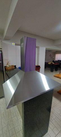 Coifa de inox Electrolux (90cm) - bivolt (valor a negociar)