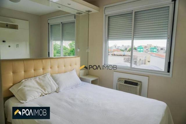 Apartamento com 2 dormitórios para alugar, 60 m² por R$ 2.652,00/mês - Cristo Redentor - P - Foto 18