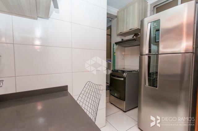 Apartamento à venda com 1 dormitórios em Bom fim, Porto alegre cod:9923329 - Foto 3
