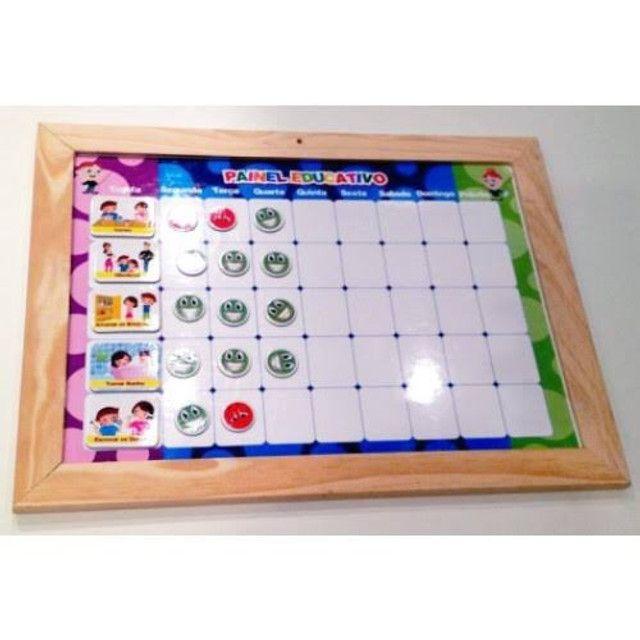 O painel magnético educativo - Foto 2