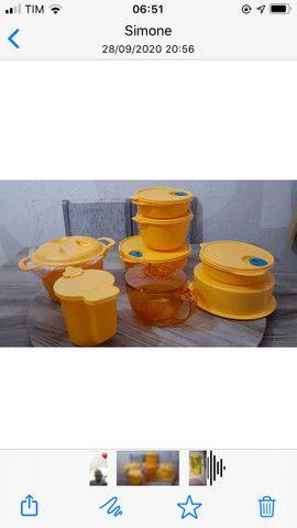 Kit com 8 peças Tupperware