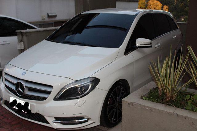 Mercedes B200 2014 branca - Foto 3