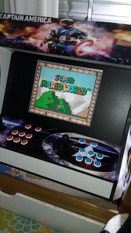 Fliperama arcade nova zero delay - Foto 4