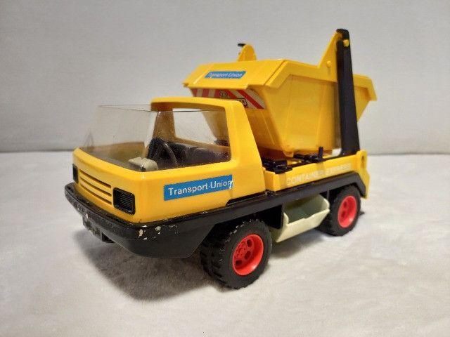 Kit Playmobil Trol Antigos, anos 1970, Caminhão, Carros, Polícia, Ferramentas - Foto 2