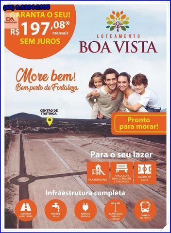 Lotes com construção liberada as margens da BR-116 Loteamento Boa Vista!! - Foto 15