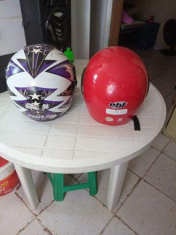 Vendo esses dois capacete - Foto 2