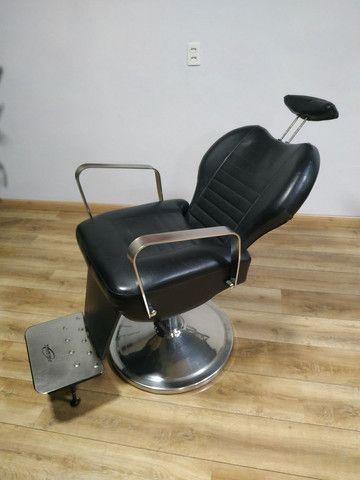 Cadeira Barbeiro Prismec Lord  - Foto 5