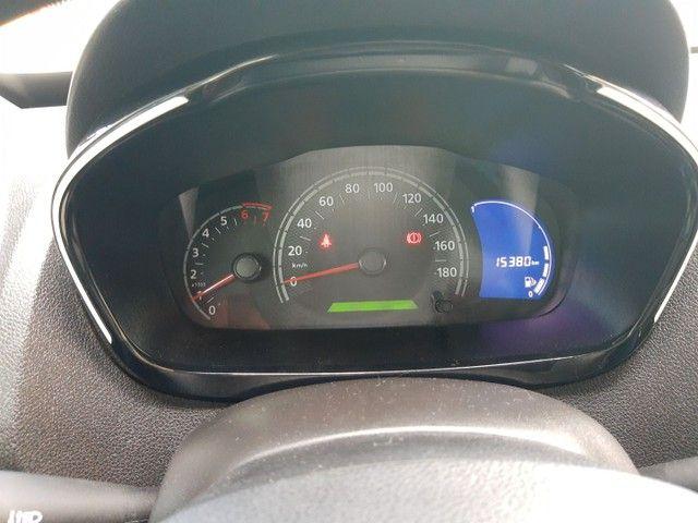 Kwid intense 2019 com 16.000 km - Foto 6