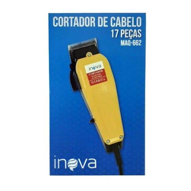 Máquina de cortar cabelo 110W Inova Maq-662 - Foto 2