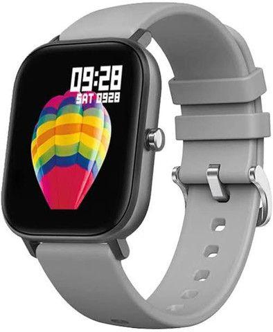 Smartwatch P8 + película protetora - Foto 5