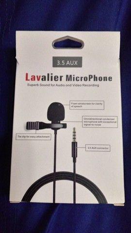 Microfone de lapela - Foto 2