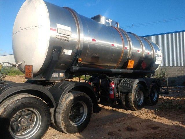 Bitrem tanque inox impecável Aceito caminhonete diesel no negócio - Foto 6