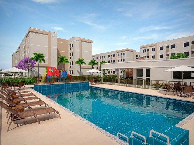 MFS-  Parcelas que cabem no seu bolso- apto 2 quartos, piscina, salão de festa - Foto 2