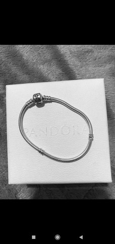 Bracelete Pandora Moments - Prata De Lei 925 - Foto 3
