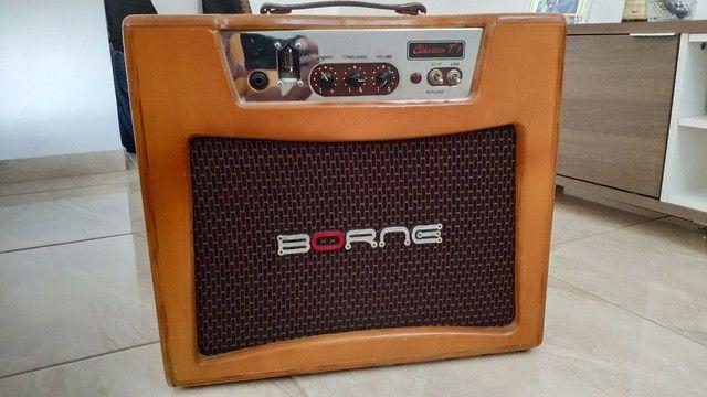 Amplificador Borne T7 Valvulado