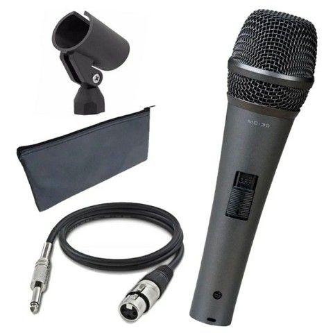 Microfone MC-30 + Cabo 5 metros - Foto 4