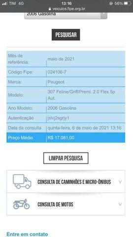 PEUGEOT 307 2.0 FELINE - ABAIXO DA FIPE - Foto 6