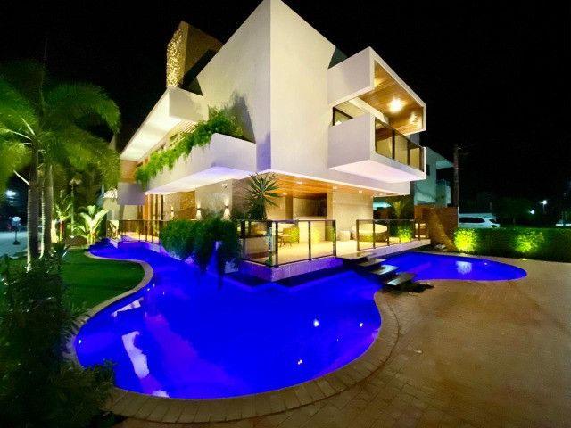 Casa belíssima a venda no Bosque das Gameleiras - 04 suítes - 538m - Luxo!