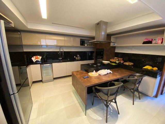 Casa belíssima a venda no Bosque das Gameleiras - 04 suítes - 538m - Luxo! - Foto 15