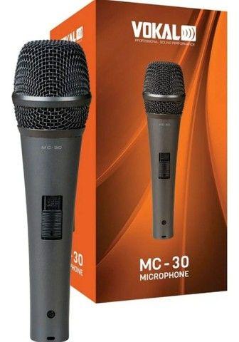 Microfone MC-30 + Cabo 5 metros