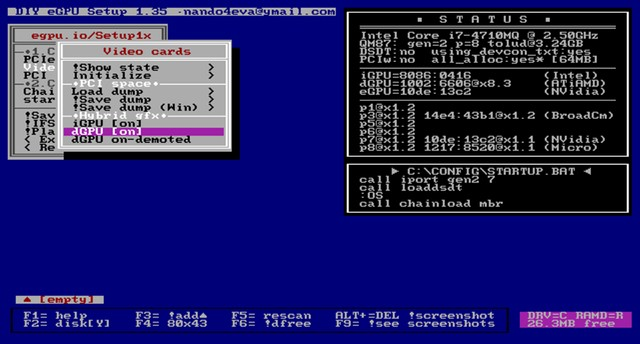 Software Diy Egpu 1.3x 1.35 Oficial Com Tutorial Traduzido - Foto 2