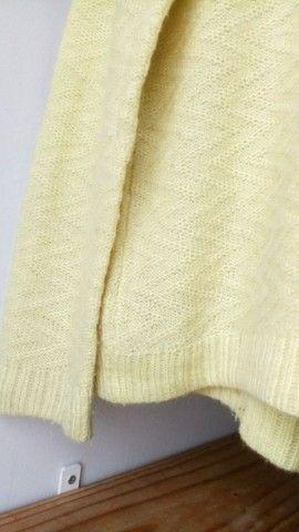 Suéter tricor amarelo - Foto 2