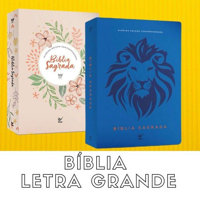 Bíblias letra grande. - Foto 5