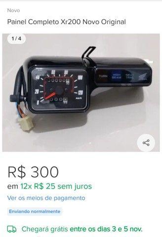 Painel de XR 200R