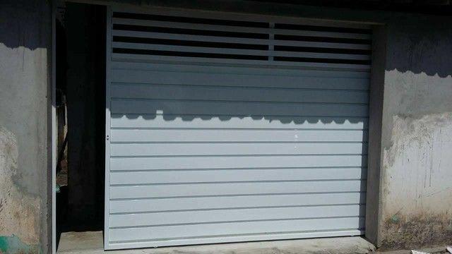 Portão alumínio branco r$399 o metro quadrado - Foto 2