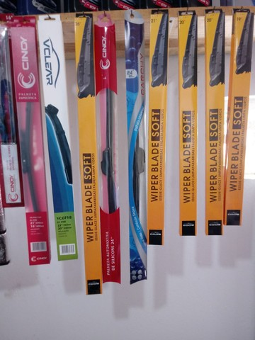Palhetas de limpador de para-brisa consulte valores - Foto 3