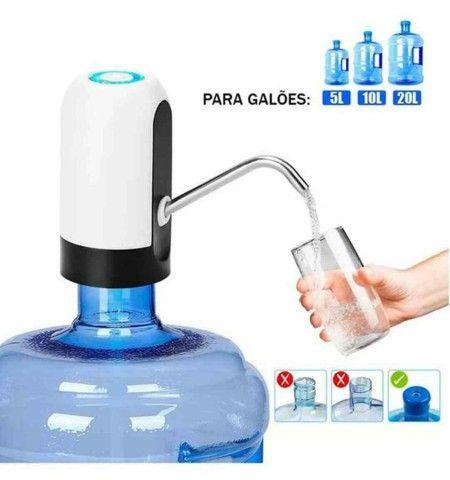Bomba d'água Elétrica portátil para Galão D?agua ??:  - Foto 5