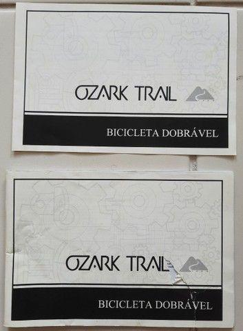 BICICLETA OZARK TRAIL DOBRÁVEL COM 6 MARCHAS (único dono) - Foto 3