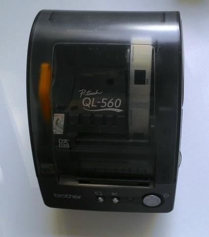 Impressora de etiquetas de alta velocidade da Brother