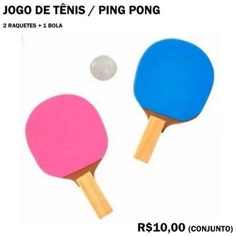 Ping Pong Tênis de Mesa