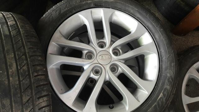 Jogo rodas aro 16 com pneus