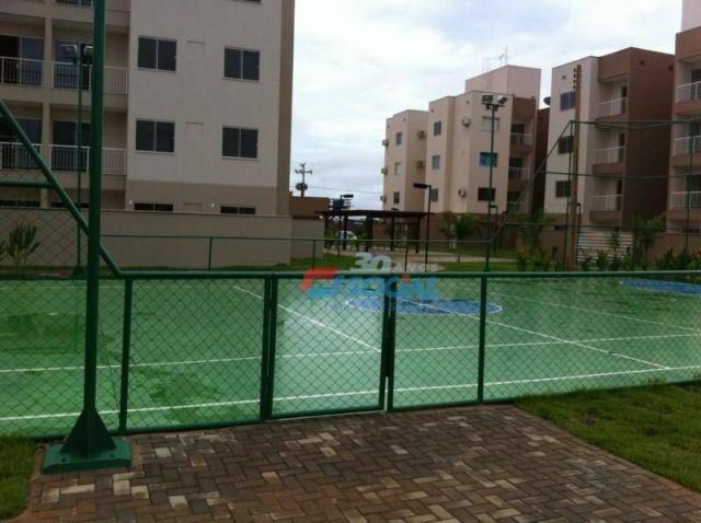 Garden Club, Apto 403 BL 11 para locação, Nova Esperança, Porto Velho. - Foto 3