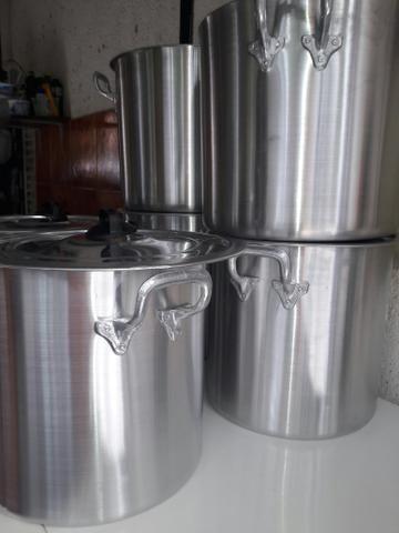 Caldeirão de aluminio 40 litro