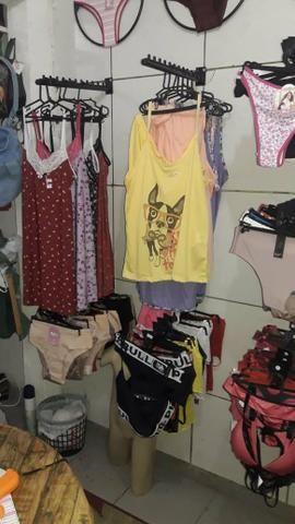 Vendo 600 peças de roupa íntima feminina, masculino e infantil
