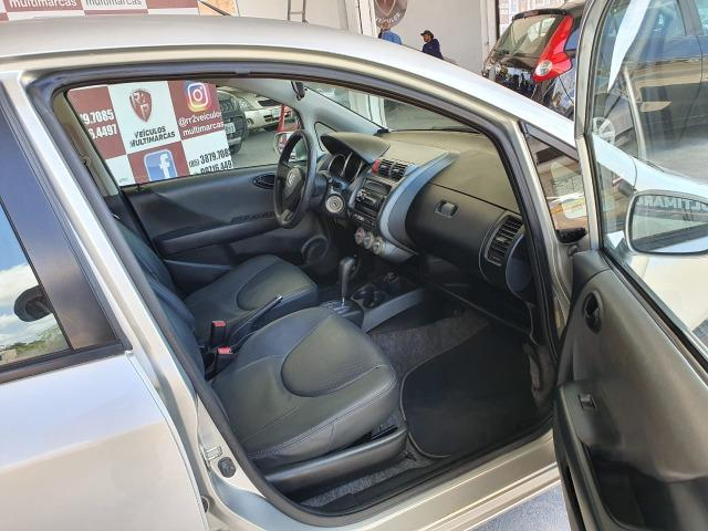 """Honda - Honda Fit LX 1.4 Automático, Flex, Completo, B. Couro, Revisado, Garantia, """"Extra"""" - Foto 5"""