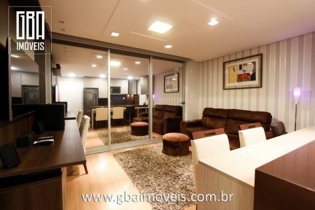 Studio Residence 100% mobiliado, 1 dorm, sacada e 1 vaga - Pelotas/RS - Foto 2