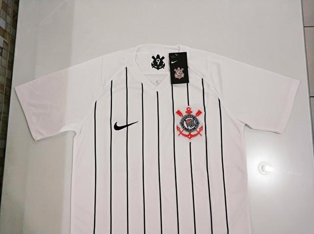 Camisa Corinthians Home 19/20 - Foto 3
