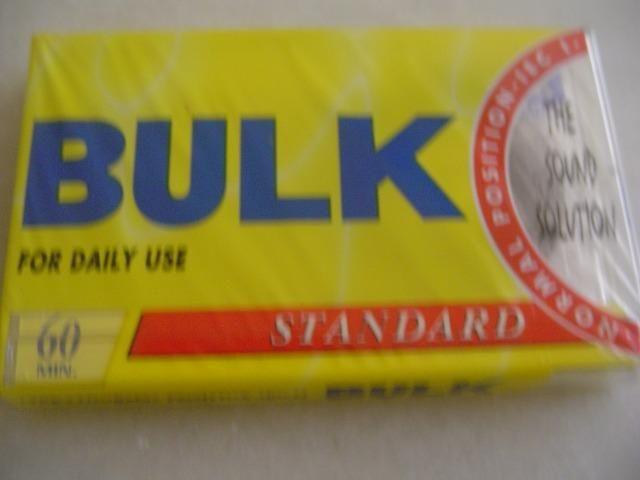 Fitas K7 Cassete bulk 60min. type Normal sem uso Lacradas - Foto 4