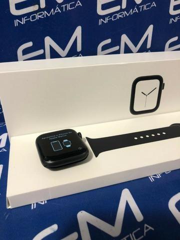 Apple Watch Series 4 Seminovo Black 44mm - Perfeito Estado - Foto 2