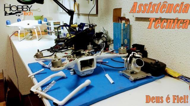 Manutenção em Drones Dji Hubsan Syma Mavic Phantom - Foto 3