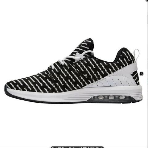 Tenis DC Shoes Heathrow La Tx Le White Black - Roupas e calçados ... f9e9cd97d8e