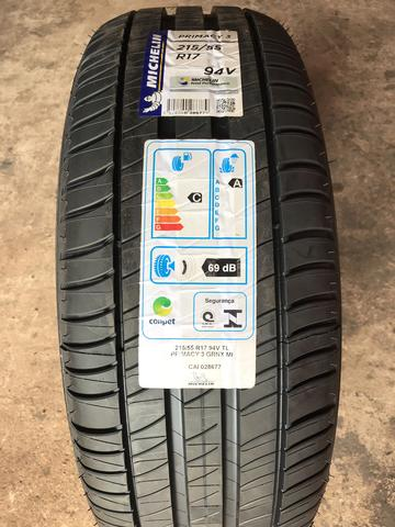 Pneu original do HR-V 215/55r17