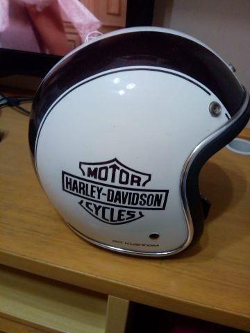 54afc465e4da5 Capacete customizado Harley Davidson - Peças e acessórios - Recreio ...