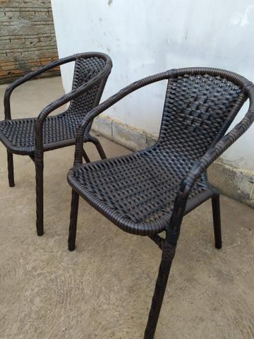 Reforma de cadeiras em fibra sintética - Foto 4