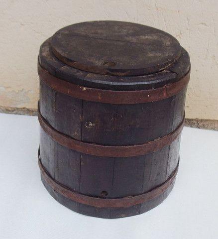 Barril de carvalho envelhecido para cachaça/bebidas