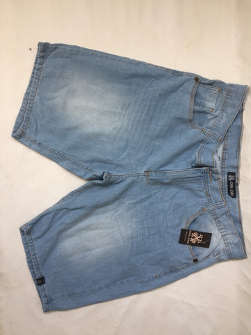 Bermuda jeans com elastano e bermuda de sarja preta - Foto 3